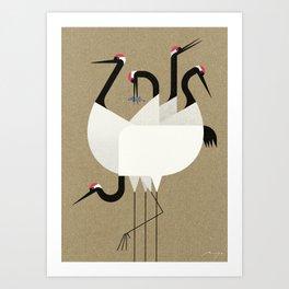 Cranes Kunstdrucke