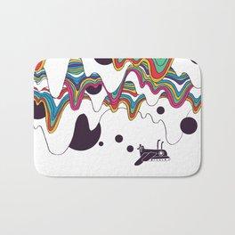 Psychedelic Planet Bath Mat