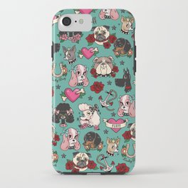 Tattoo Dogs iPhone Case
