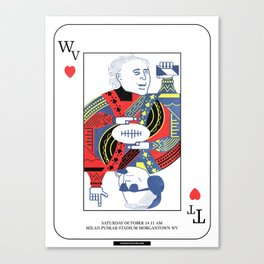 Jokers & Kings - TTU vs WVU 10/14/17 Canvas Print