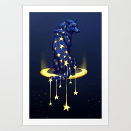 Star Drop Art Print