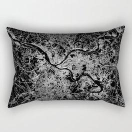 pittsburgh map Rectangular Pillow