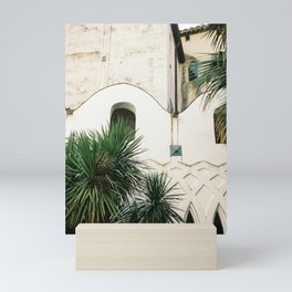Italian architecture on the Amalfi coast | Travel photography Italy Europe Mini Art Print