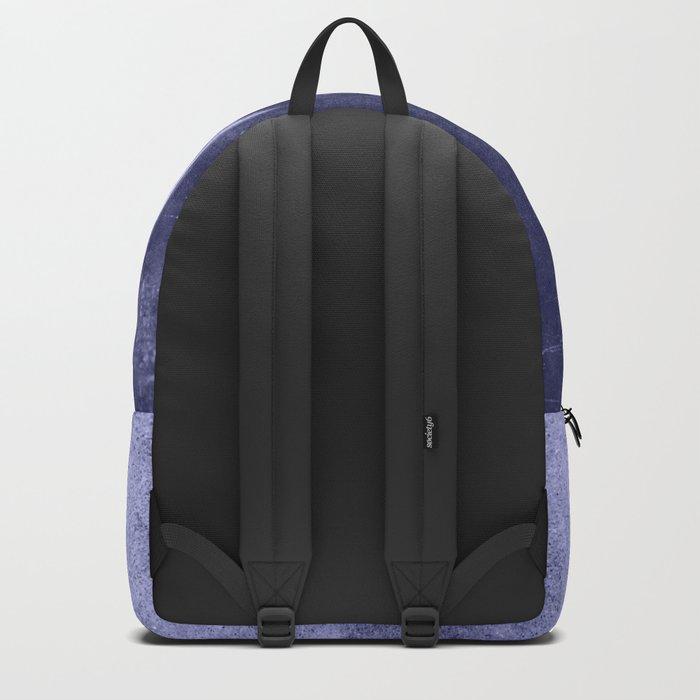 floral cyanotype Backpack