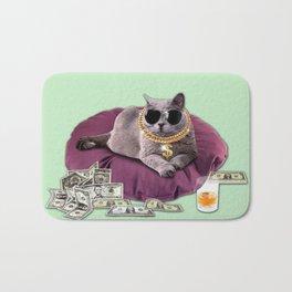 GANGSTA CAT Bath Mat