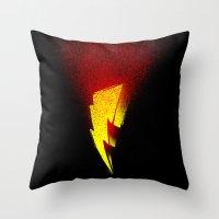 power rangers Throw Pillows featuring power rangers by barmalisiRTB