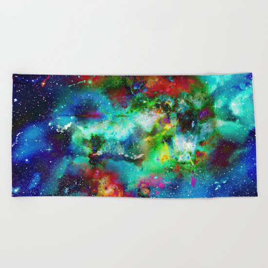 Everything is nothing 4 (therefore it was beautiful) Beach Towel