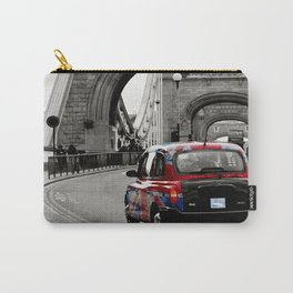 London Union Jack Taxi. Carry-All Pouch