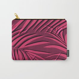 Red palm leaf Carry-All Pouch