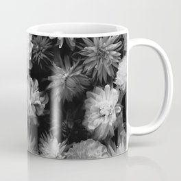In Bloom (Black and White) Coffee Mug