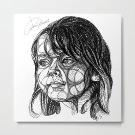 sweet little girl - dolce bambina - douce petite fille Metal Print