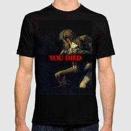 You Died Dark Soul T-shirt