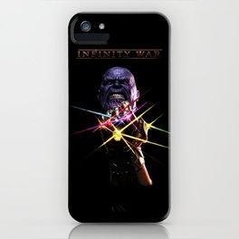 infinity war iPhone Case