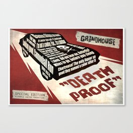 Deathproof redux Canvas Print