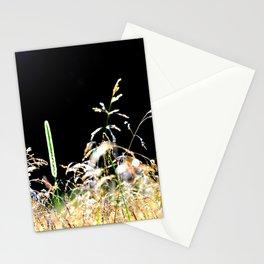 gold&black grass Stationery Cards