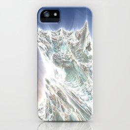 Mega Dragon's Peaks iPhone Case