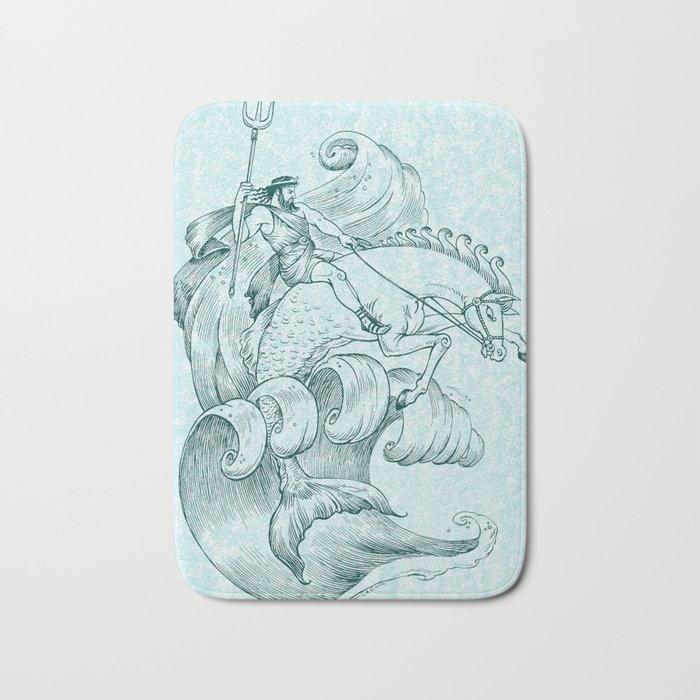 Poseidon Bath Mat