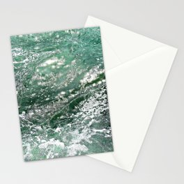 Emerald Water Stationery Cards