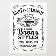 Kilo Tango Charlie Art Print
