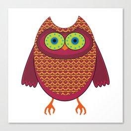 Ronin the Owl Canvas Print