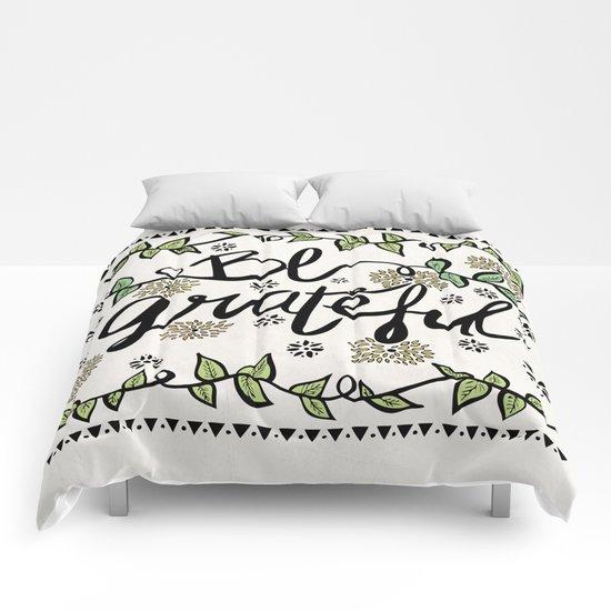 Be Grateful Comforters