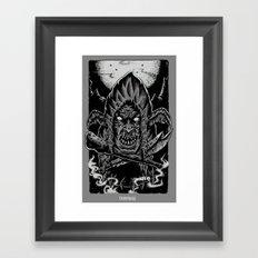 GOBLIN MESTRE Framed Art Print