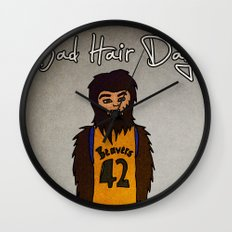 bad hair day no:2 / Teen Wolf Wall Clock