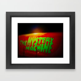The Mystery Machine Framed Art Print