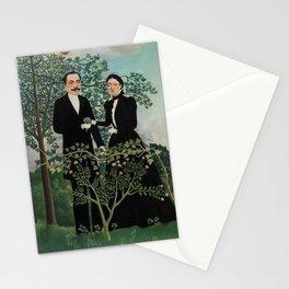 The Past and the Present, or Philosophical Thought (Le Passé et le présent, ou Pensée philosophique) Stationery Cards