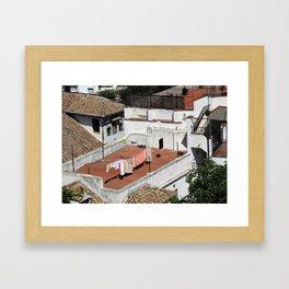 Wash Day Framed Art Print