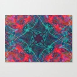Phoenix Collision Canvas Print