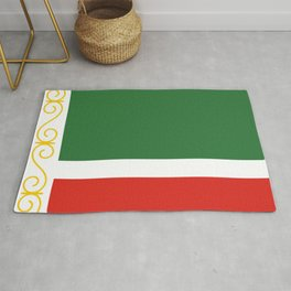 flag of Chechnya Rug