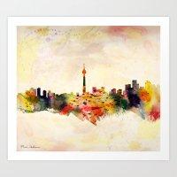 toronto Art Prints featuring  Toronto  by mark ashkenazi