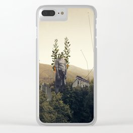 Forest Angel Clear iPhone Case