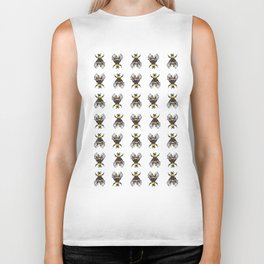 Bees in the Trap Biker Tank