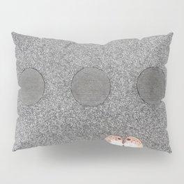 sidewalk cicrles, urban german workers art, essen Pillow Sham
