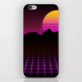 80s Vibes iPhone Skin