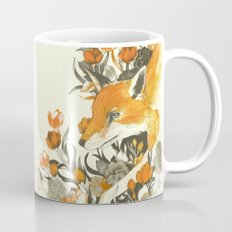 fox in foliage Mug