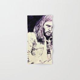 David Gilmour sketch Hand & Bath Towel