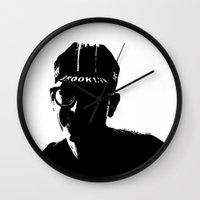 brooklyn Wall Clocks featuring Brooklyn by Addison Karl