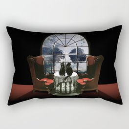Room Skull Rectangular Pillow