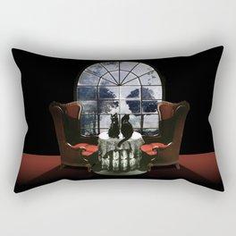 Room Skull Rectangular Pillow