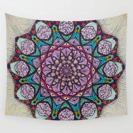 Creation Mandala - מנדלה בריאה Wall Tapestry