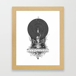Clockworks Light Framed Art Print
