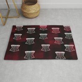 Corset pattern Rug