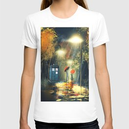 Tardis dr who T-shirt