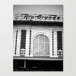 Rio Grande Train Station Canvas Print