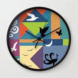 Sky Unlimited Wall Clock