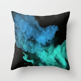 Pigment Decomposed Throw Pillow