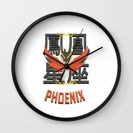 Saint of the Phoenix Wall Clock